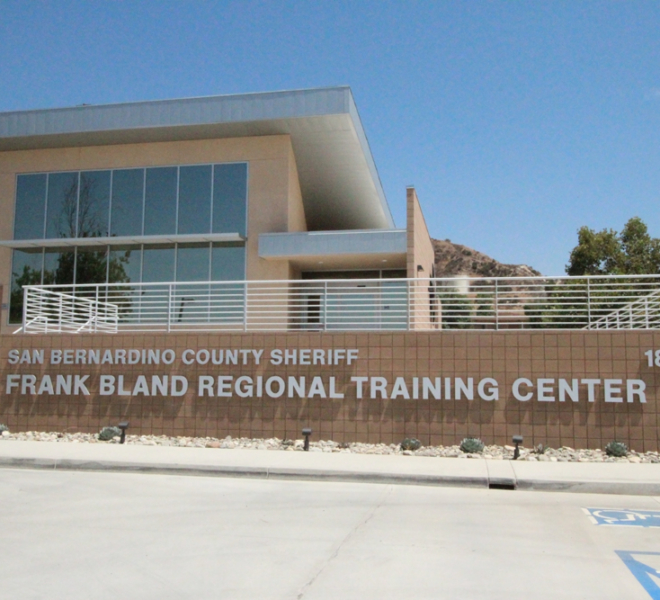 San Bernardino County Sheriff Frank Bland Regional Training Center