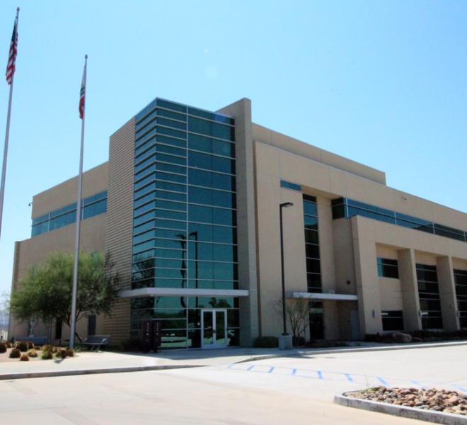 San Bernardino Int Airport Terminal